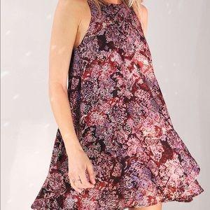 urban outfitters sleeveless swing dress